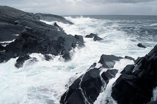 Jäämeren rantaa