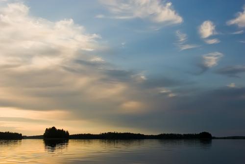 Järvimaisemia kesällä 2007